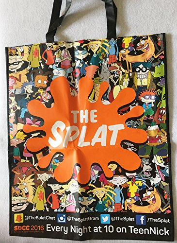 2016-sdcc-comic-con-swag-bag-tote-nickelodeon-the-splat-brand-new-rugrats-hey-armold