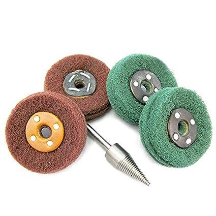 Amazon com: Maslin SPTA Scotchbrite Fibral Polishing Mops