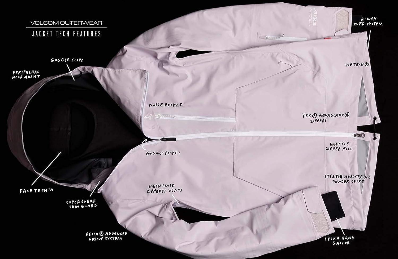 Volcom Womens Kuma Breathable Snow Jacket Insulated