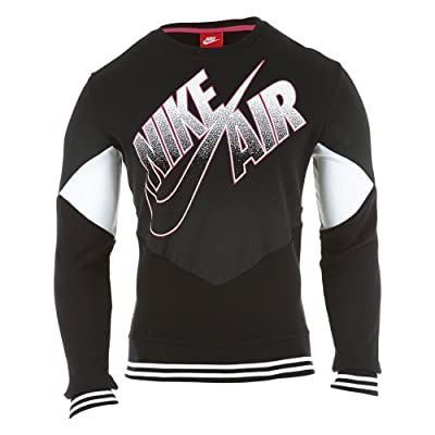 Nike Black Air Basketball Pivot Crewneck Sweatshirt