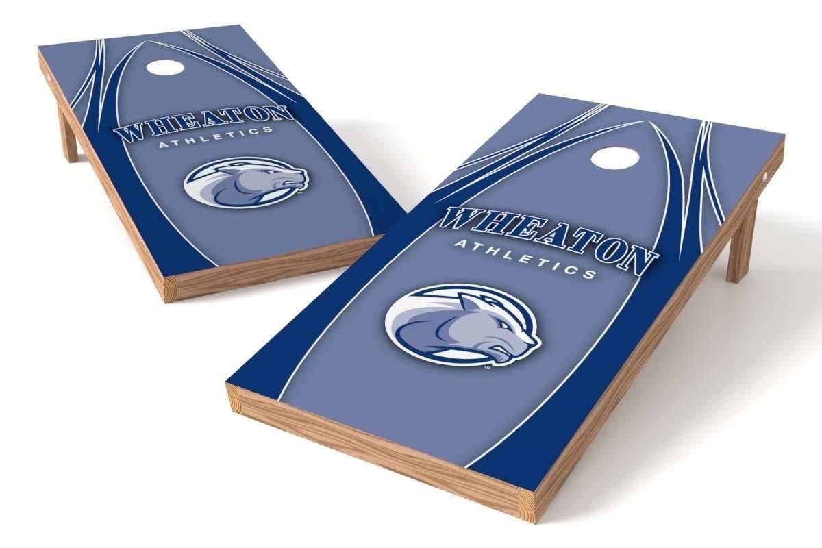 Proline NCAAカレッジ2 ' x 4 ' Wheaton Thunder Cornholeボードセット – エッジ   B01HULP1IM