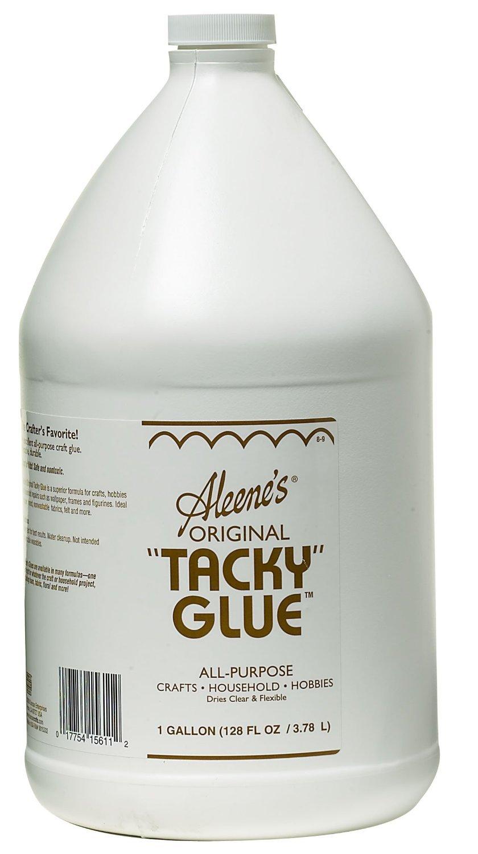 Gallon Reg. Tacky Glue Dries Clear