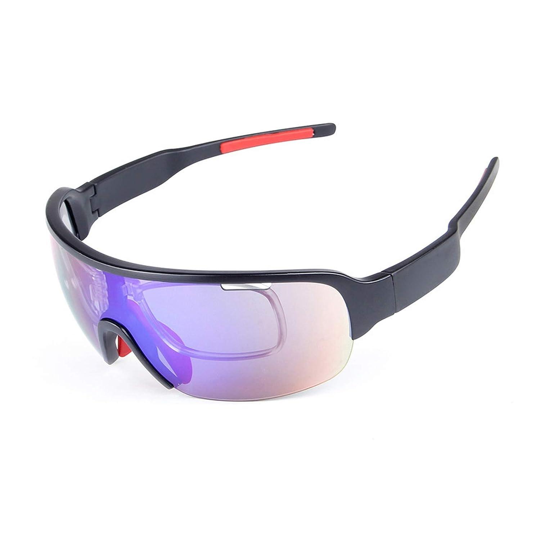 Fahrradbrille Winter Sportbrille Mit Wechselgläsern Halbrahmen 5 Stück Sport Sandproof Polarisator Herren Und Damenmode Multifunktions Reitbrille Damen Herren