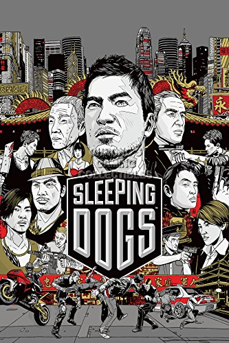 CGC Huge Poster - Sleeping Dogs Ps4 Ps3 Xbox One 360