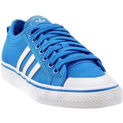 Cheaperst adidas Originals Nizza Lo Männer Schuhe Blau