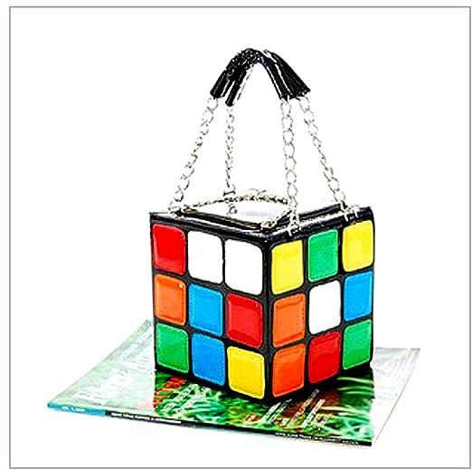 HQdeal New Women - Bolso, diseño de cubo rubic: Amazon.es: Hogar