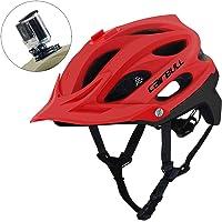 ComeLife Casco de Bicicleta de Carretera con Visera Desmontable para Hombres y Mujeres Adultos, Casco de Ciclismo de Carretera y montaña, tamaño Ajustable de 57 a 62 cm