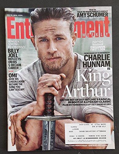 Entertainment Weekly ~ July 31, 2015 ~ King Arthur - Charlie Hunnam