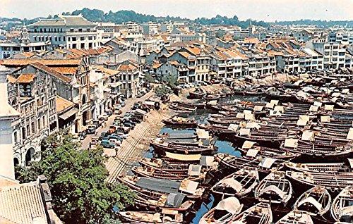 Boat Quay Singapore Postcard
