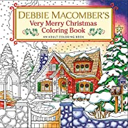 Debbie Macomber's Very Merry Christmas Coloring Book: An Adult Coloring