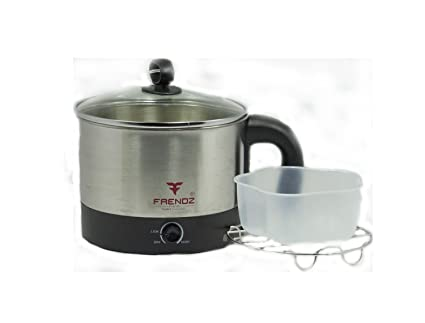 FRENDZ FOREVER EK003 1.2 L Electric Kettle (Chrome and Black)