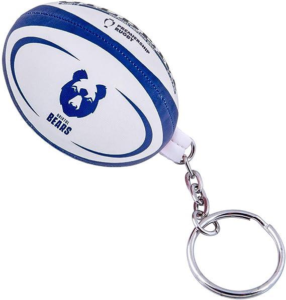 Gilbert Bristol Bears - Llavero, diseño de pelota de rugby: Amazon.es: Deportes y aire libre