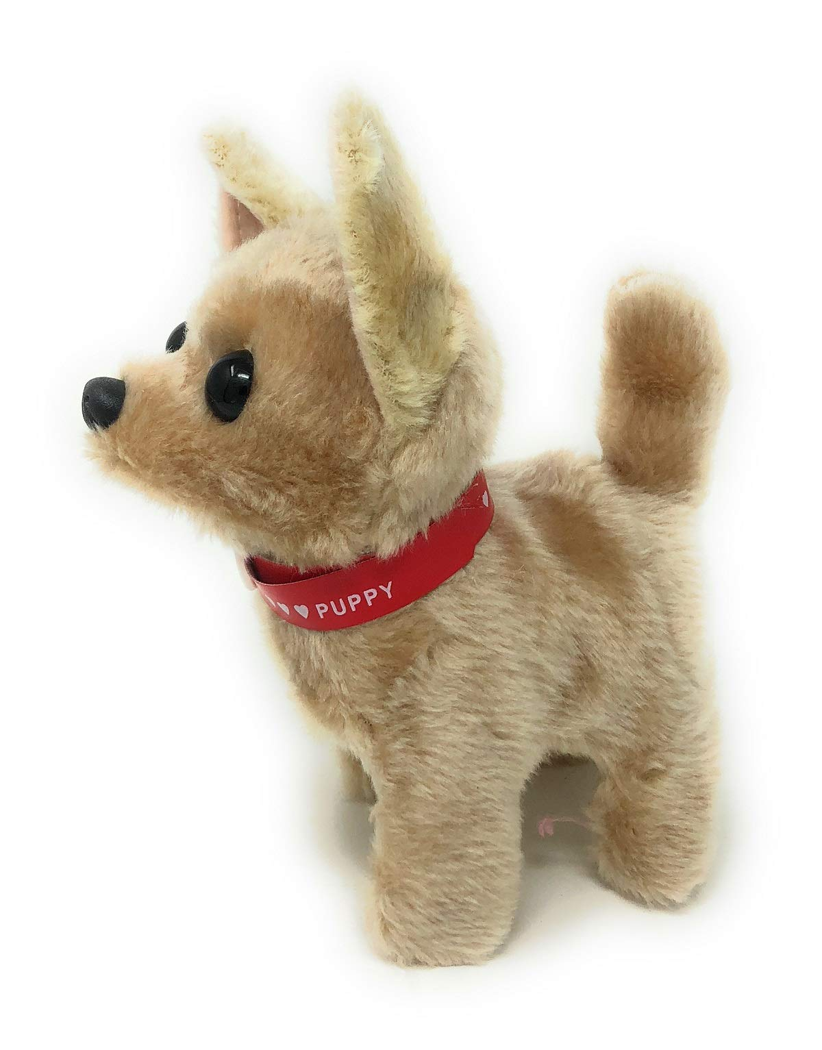 Playee Walking Toy Puppy | Battery Operated Walking, Tail-Wagging and Mechanical Barking Electronic PIush Animal Dog by Playee (Image #2)