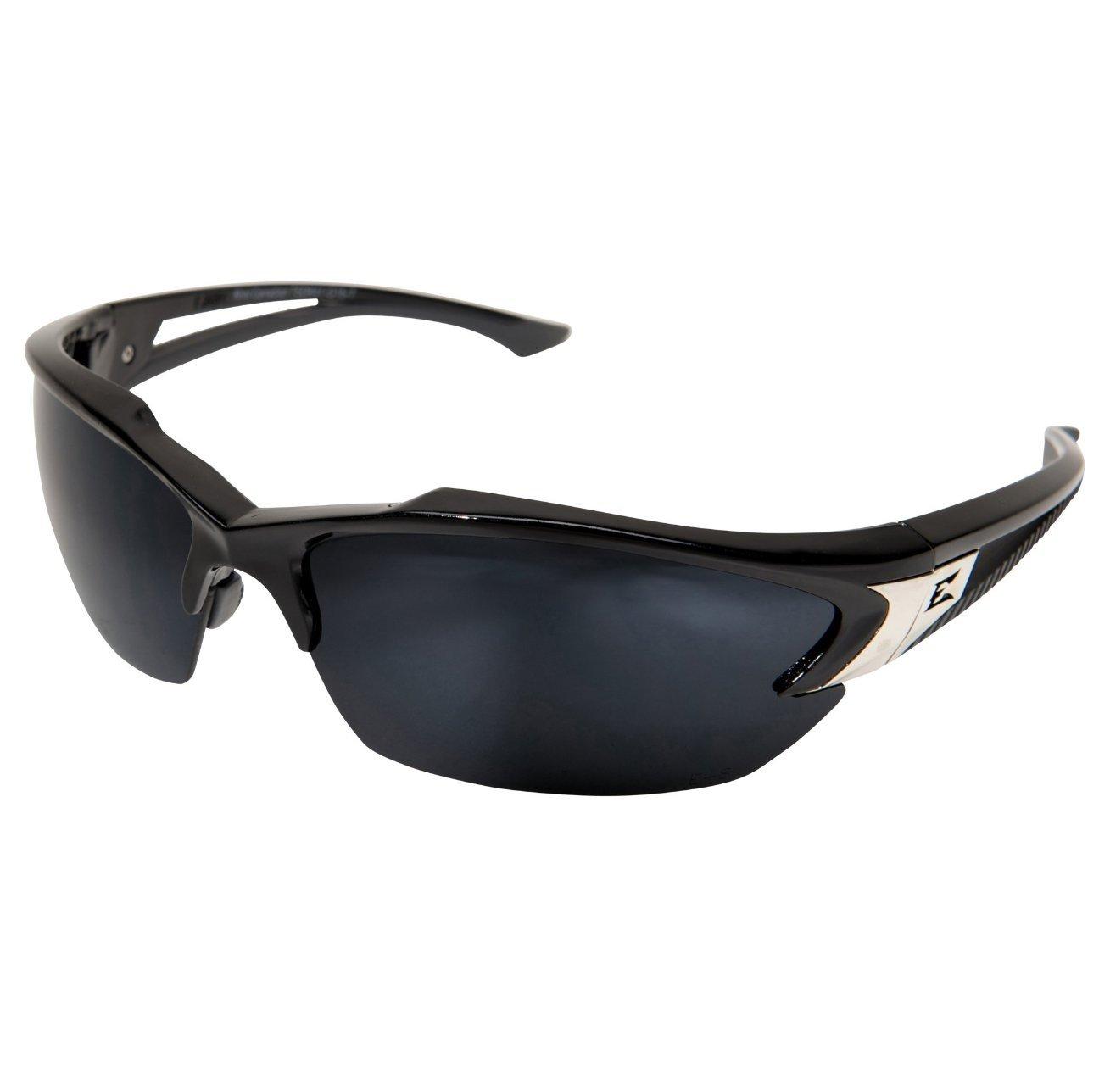 Edge Eyewear G-15 Silver Mirror Polarized Eyewear, Anti-Fog