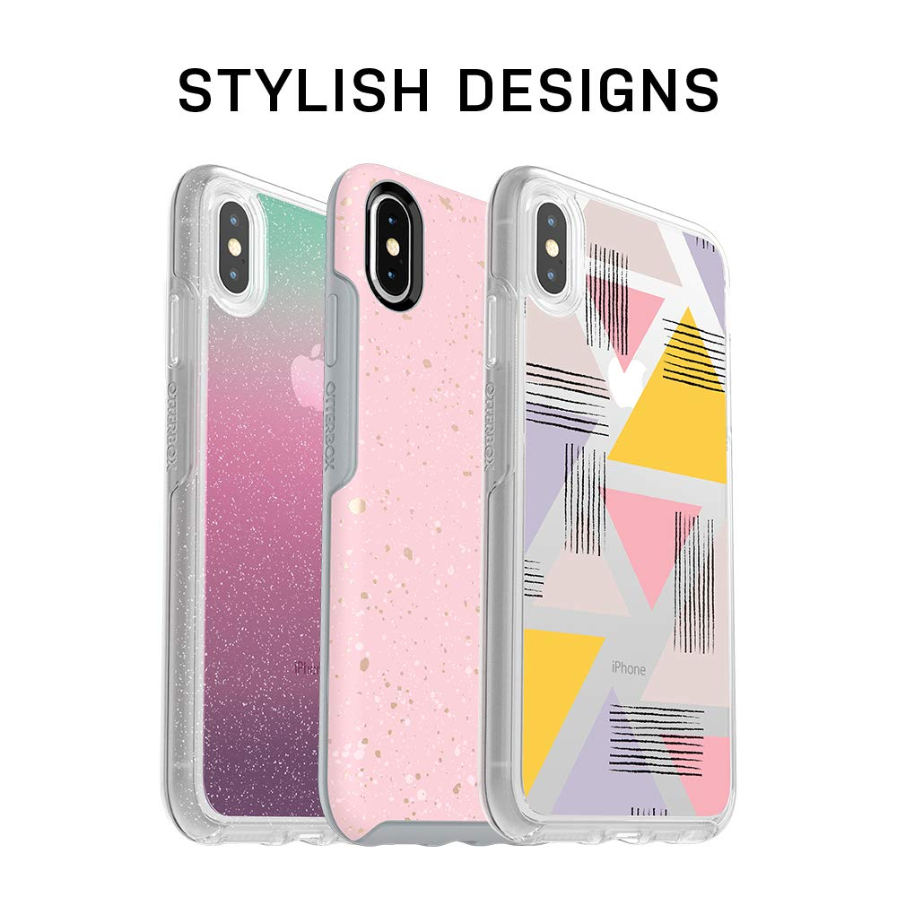 OtterBox 77-57081 SYMMETRY SERIES Case for iPhone X (ONLY) - Retail Packaging - BLACK