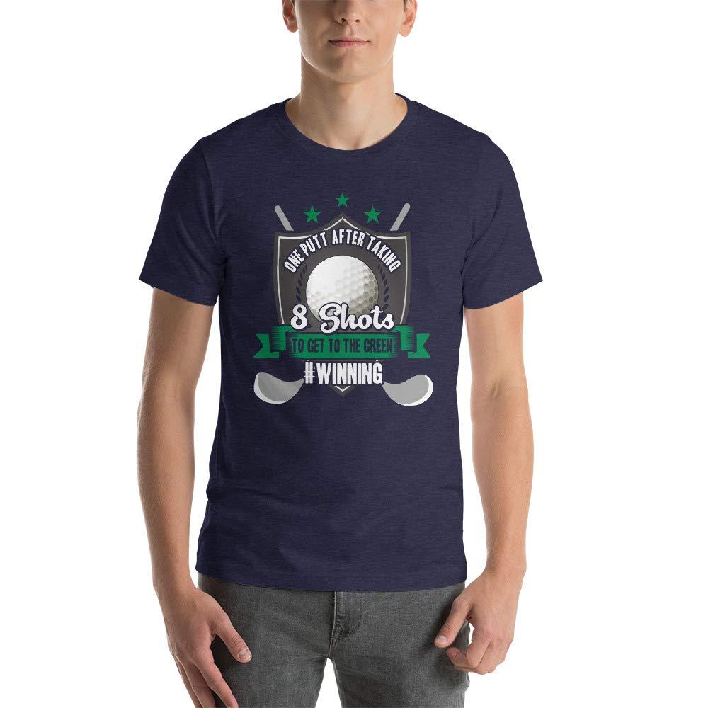 One Putt Golfing Short-Sleeve Unisex T-Shirt