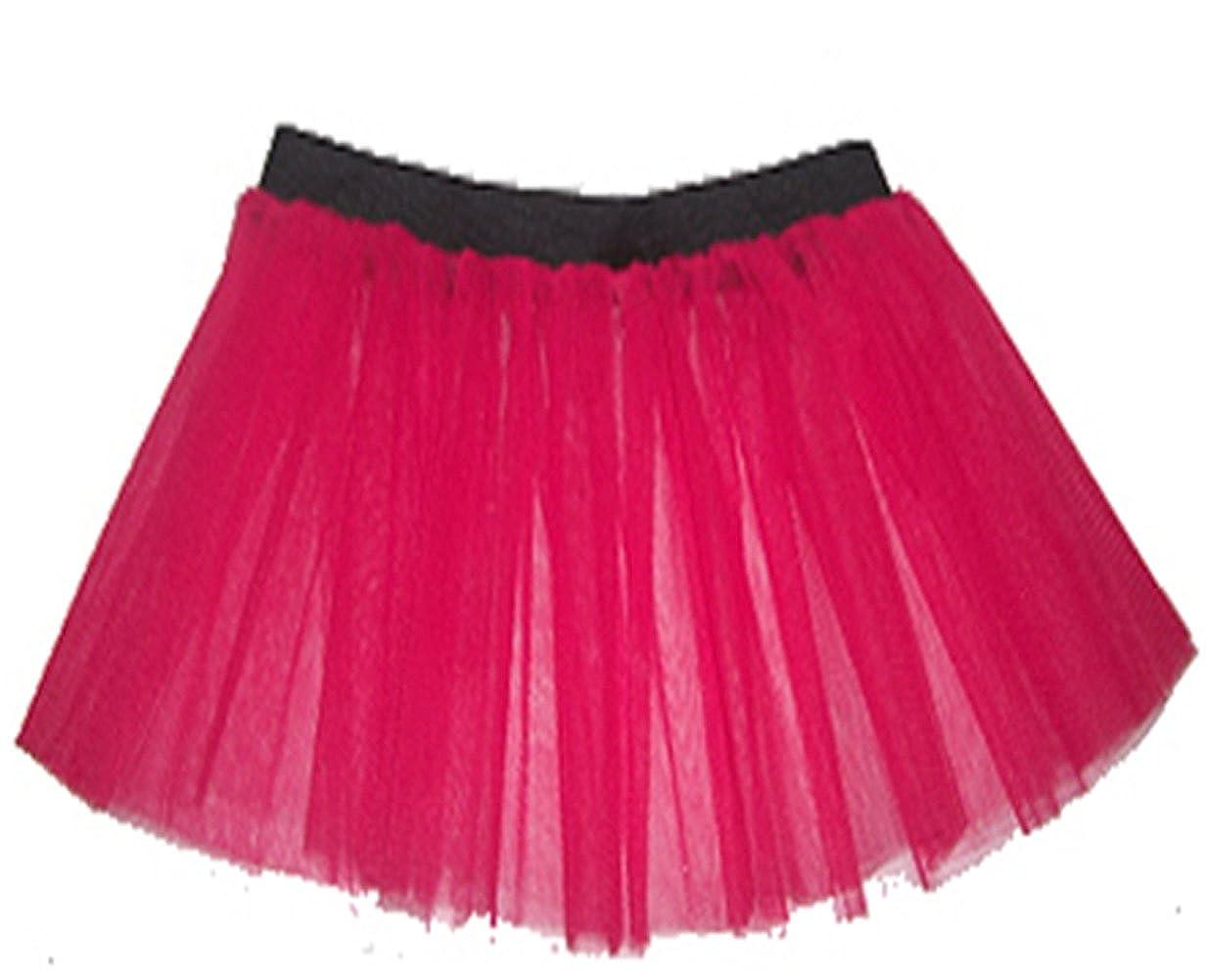 A-Express Falda - para mujer rosa fuerte 46-54: Amazon.es ...