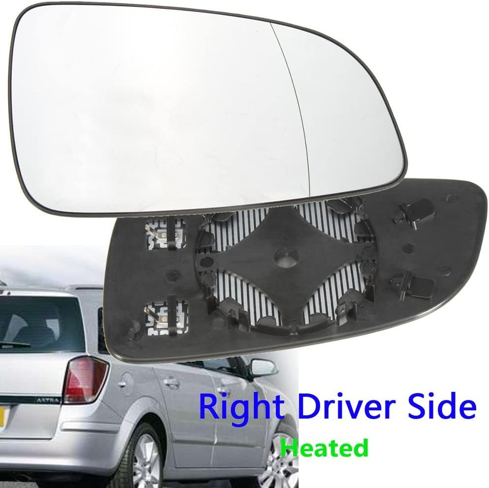 VAUXHALL ASTRA MK5 H 2004-2008 DOOR WING MIRROR GLASS FLAT RIGHT