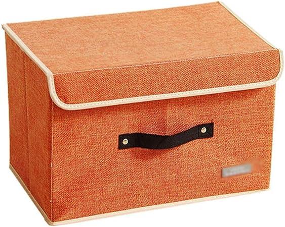 Caja de Almacenamiento, Colcha Ropa Papelería Caja de Almacenamiento Oficina Junto a la Cama Caja de