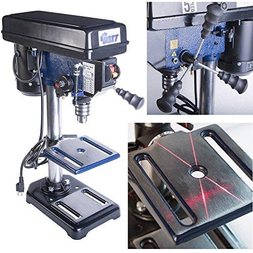 Ainfox 120V 350W 8-Inch 3/5 HP 5 Speed Benchtop Drill Press (8