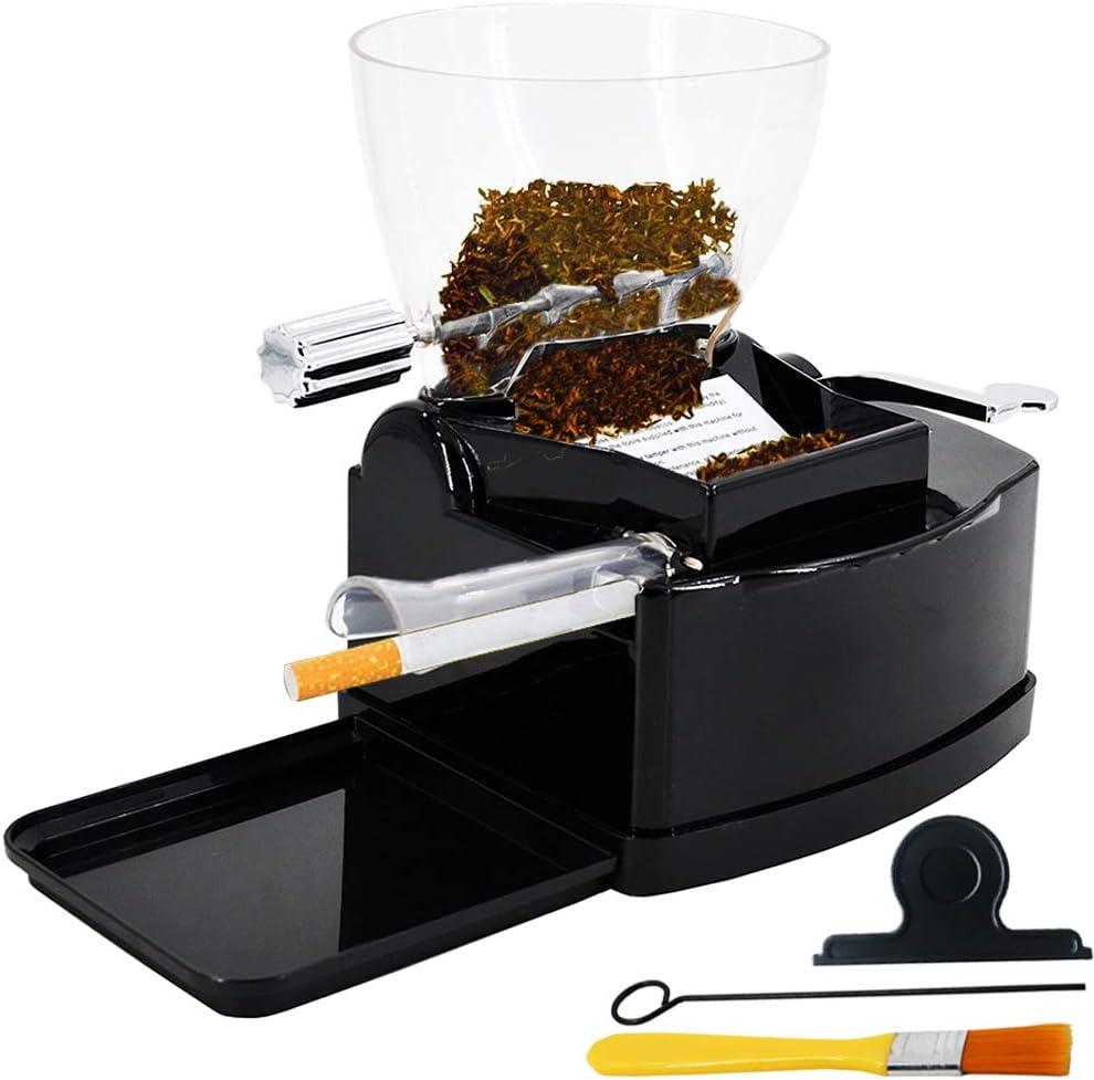 GERUI Electric Cigarette Rolling Machine Automatic Cigarette Injector with Hopper