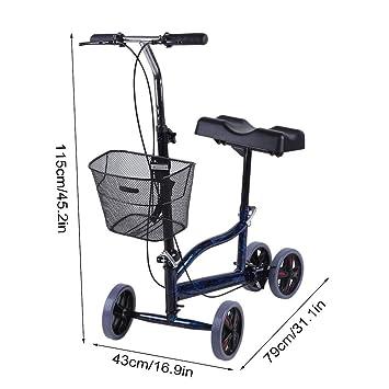 Amazon.com: Emilykylie - Patinete médico para lesiones en ...
