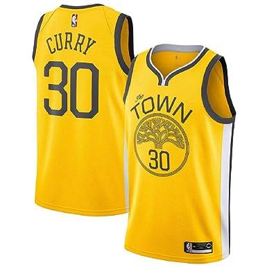 b4c3189e44a Stephen Curry  30 Golden State Warriors 2018-19 Swingman Men s Jersey  Yellow (M