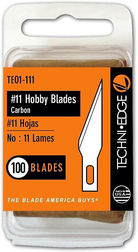 Techni Edge TE01-111#11 Hobby Blades 100 Pack 1 Free Shipping