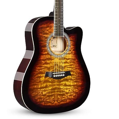 Miiliedy Retro Serie nostálgica Guitarra acústica Estudiante ...