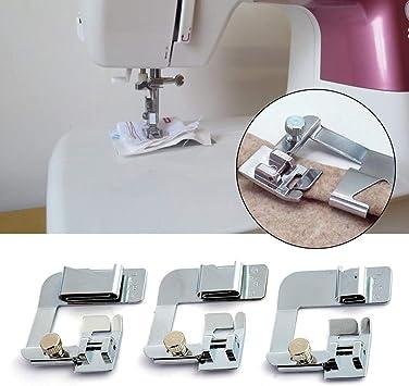 Hook.s 3 UNIDS Máquina de Coser Prensadora de Bordes para Costura ...