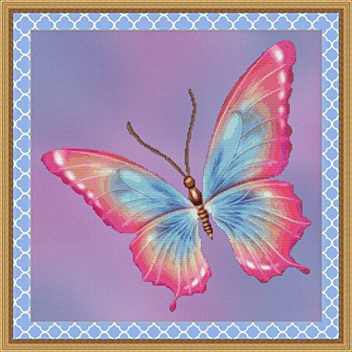 Pattern Butterfly Chart (Flutter #6 Butterfly Cross Stitch Pattern)