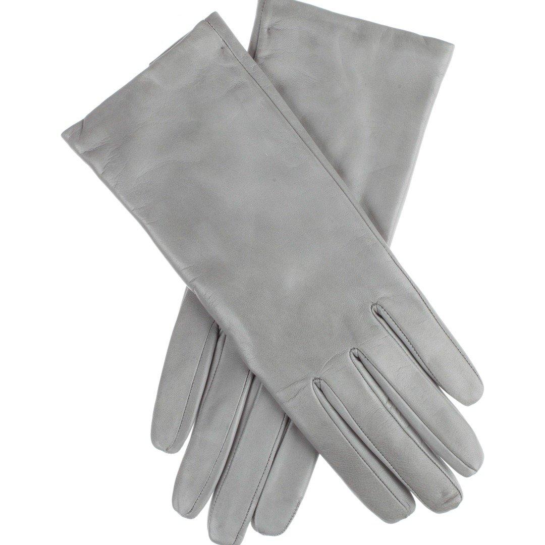 Lundorf Linea Kurze Leder Damenhandschuhe mit Kaschmir gefüttert Nordisches Design