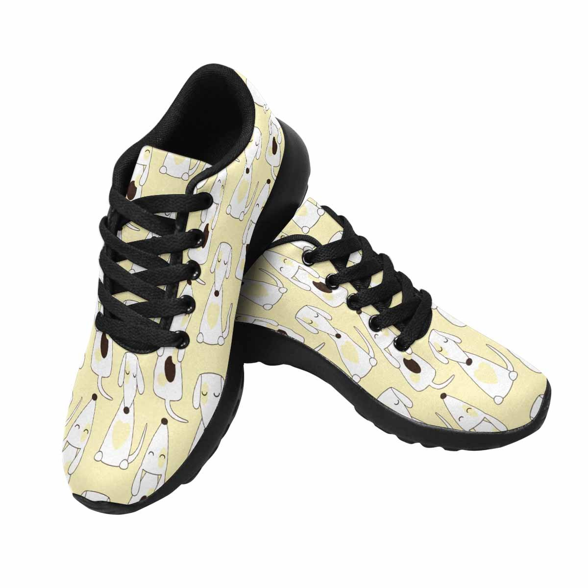 InterestPrint Women's Go Easy Walking Comfort Sports Athletic Shoes Jack Russel Terrier US 7