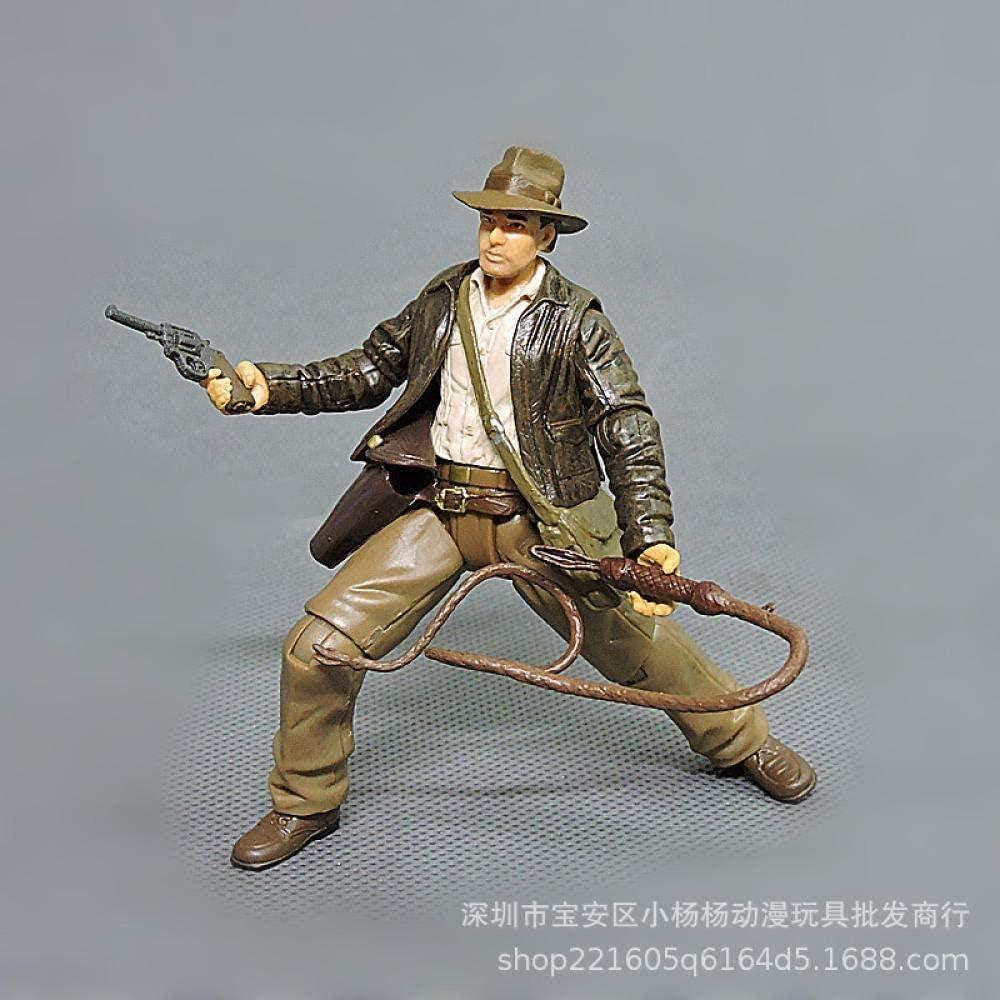 1pcs 7.5cm Cartoon Anime Indiana Jones Figuras de acción Muñecas Niños PVC Modelo Educativo para Colección Toy d11-Styles B 7 5cm-Estilos B 7,5 Cm: Amazon.es: Hogar