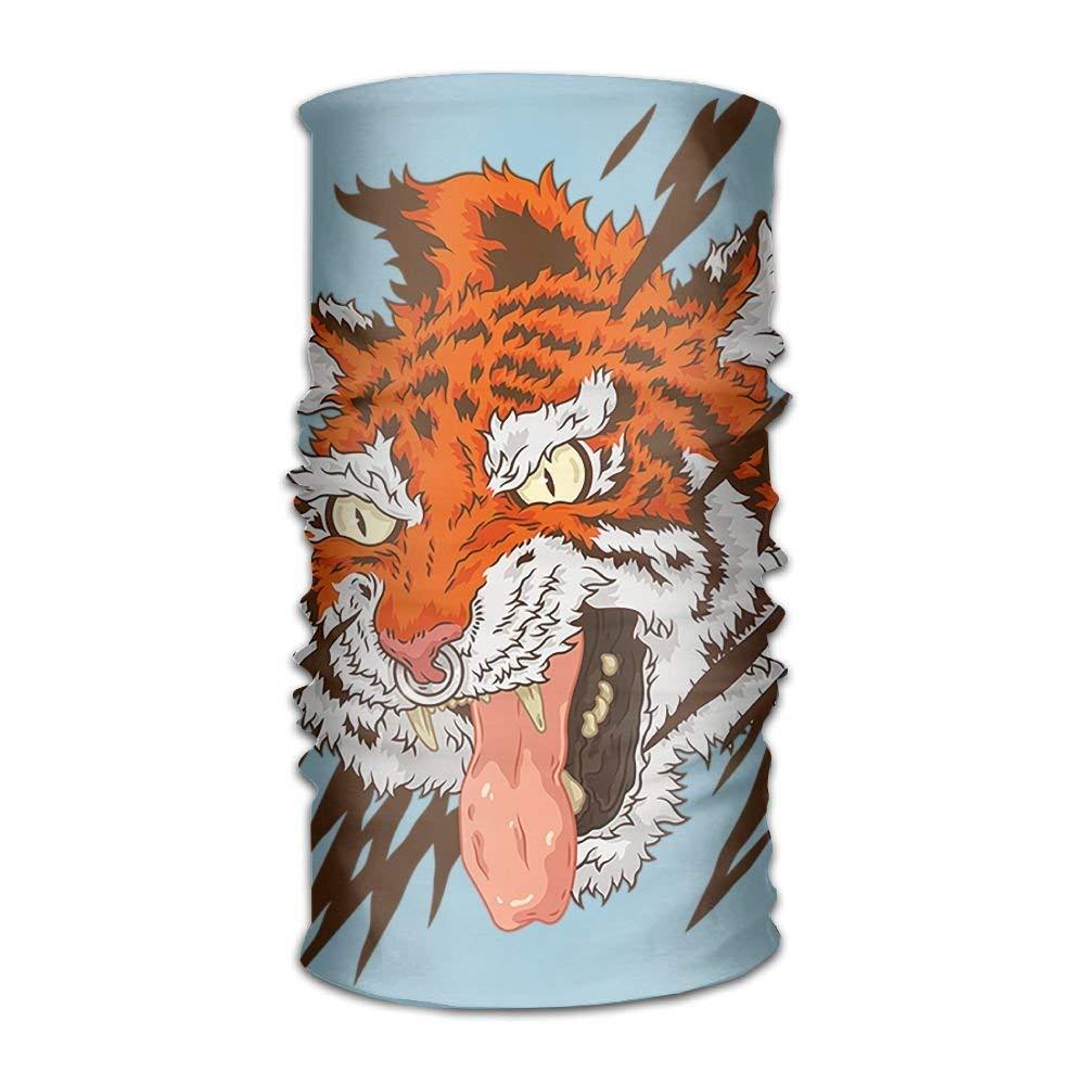 Magic Headwear Tiger Outdoor Scarf Headbands Bandana Mask Neck Gaiter Head Wrap Mask Sweatband