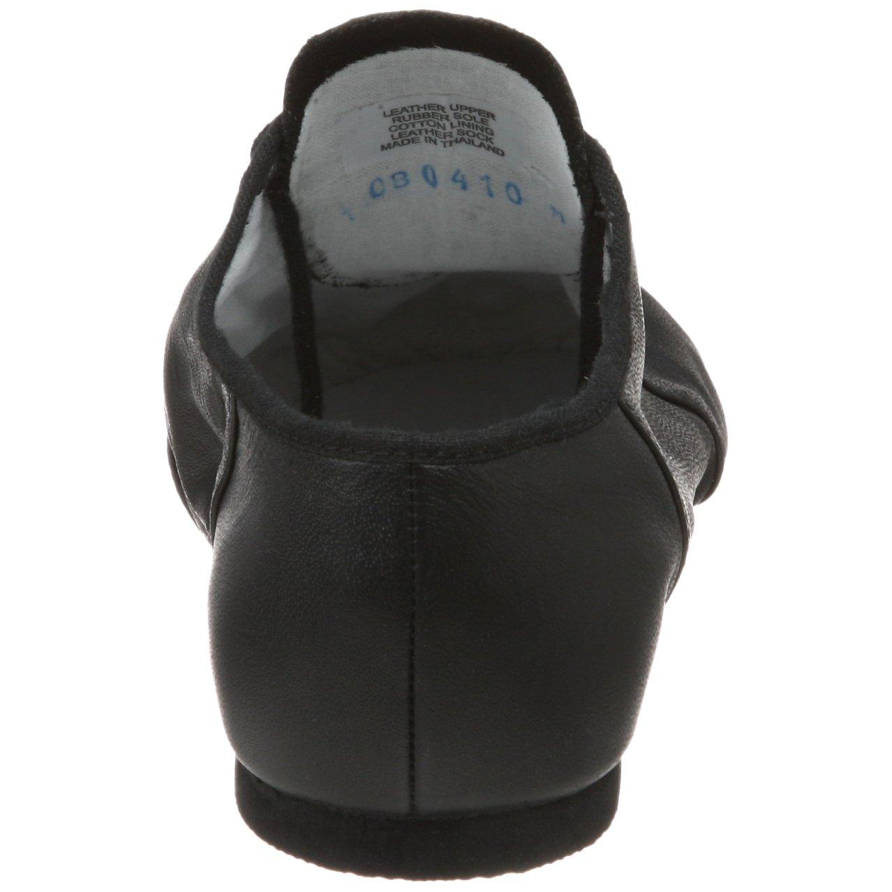 Bloch Dance Womens Jazzsoft Split Sole Leather Jazz Shoe Black