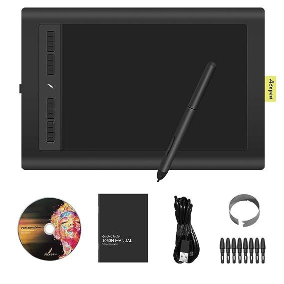 Amazon Com Drawing Tablet 15 6 Digital Graphics Drawing Monitor