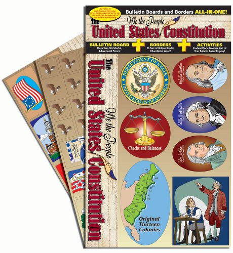 Gallopade Publishing Group Educational We The People - The U.S. Constitution All-in-One Bulletin Board Set (9780635063823) ()