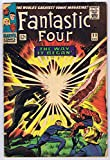 #6: Fantastic Four #53 intro/1st Appearance Klaw 2nd Appearance Black Panther w/ Origin Marvel Comics 1966