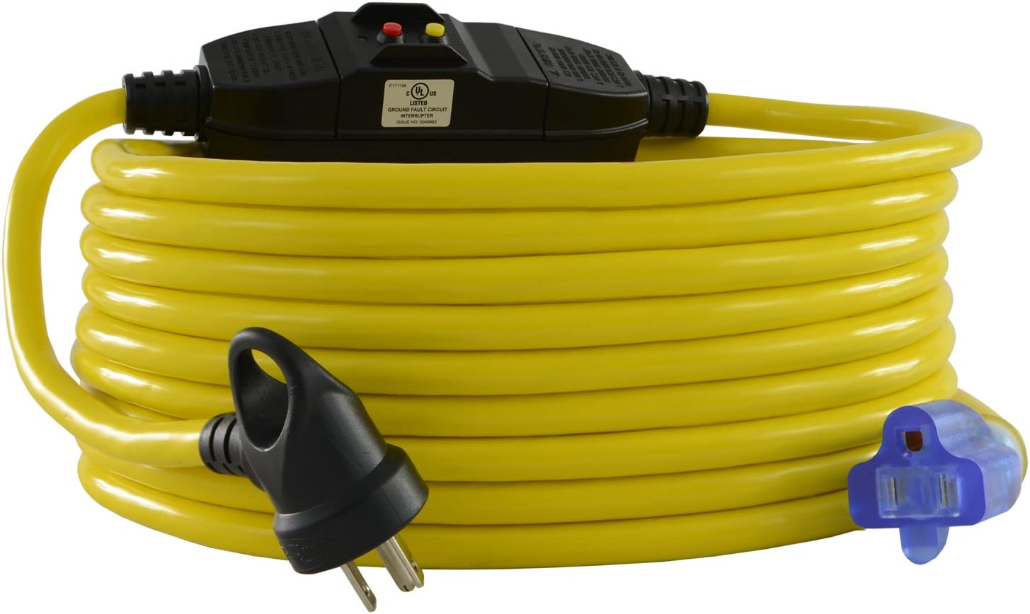 Conntek 20251-025-IG GFCI Extension Cord, 25-Feet, Yellow