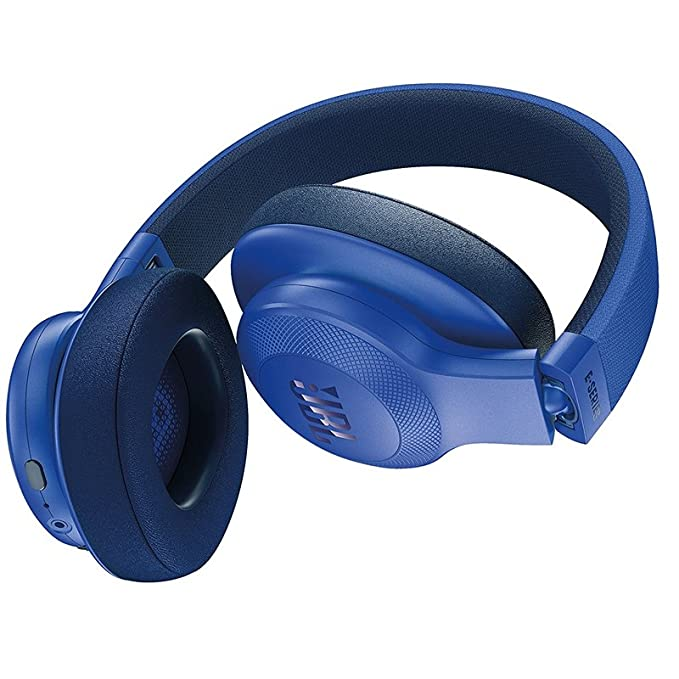 Buy Jbl Bluetooth Headphone Blue E55bt Online At Low Prices In India Amazon In