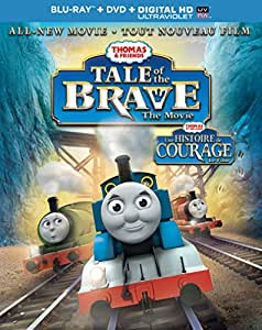 Thomas & Friends: Tale of the Brave - The Movie / Thomas & Friends: Histoire De Courage (Bilingual) [Blu-ray + DVD + Digital Copy + UltraViolet]