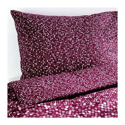 Ikea Smörboll – Cama Dunkelrosa en 3 tamaños, arce, rosa, 140 x 200