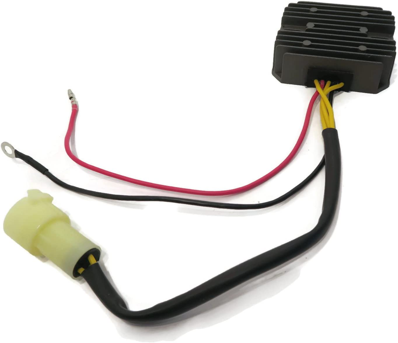 The ROP Shop Voltage Regulator Rectifier for Yamaha 80-100 HP 4 Stroke 67F-81960-12-00 Motor