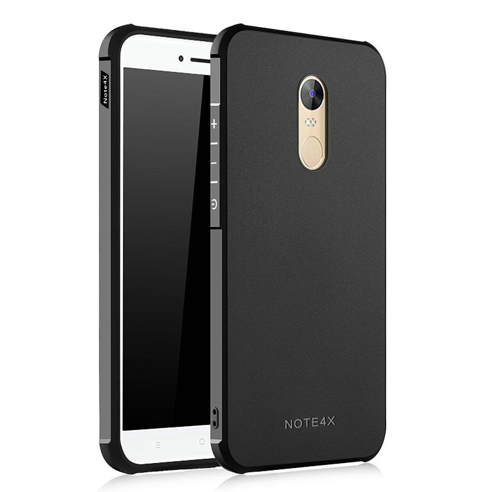 Hevaka Blade Xiaomi Redmi Note 4X Funda - TPU Carcasa Smart Case Cover Para Xiaomi Redmi Note 4X - Negro
