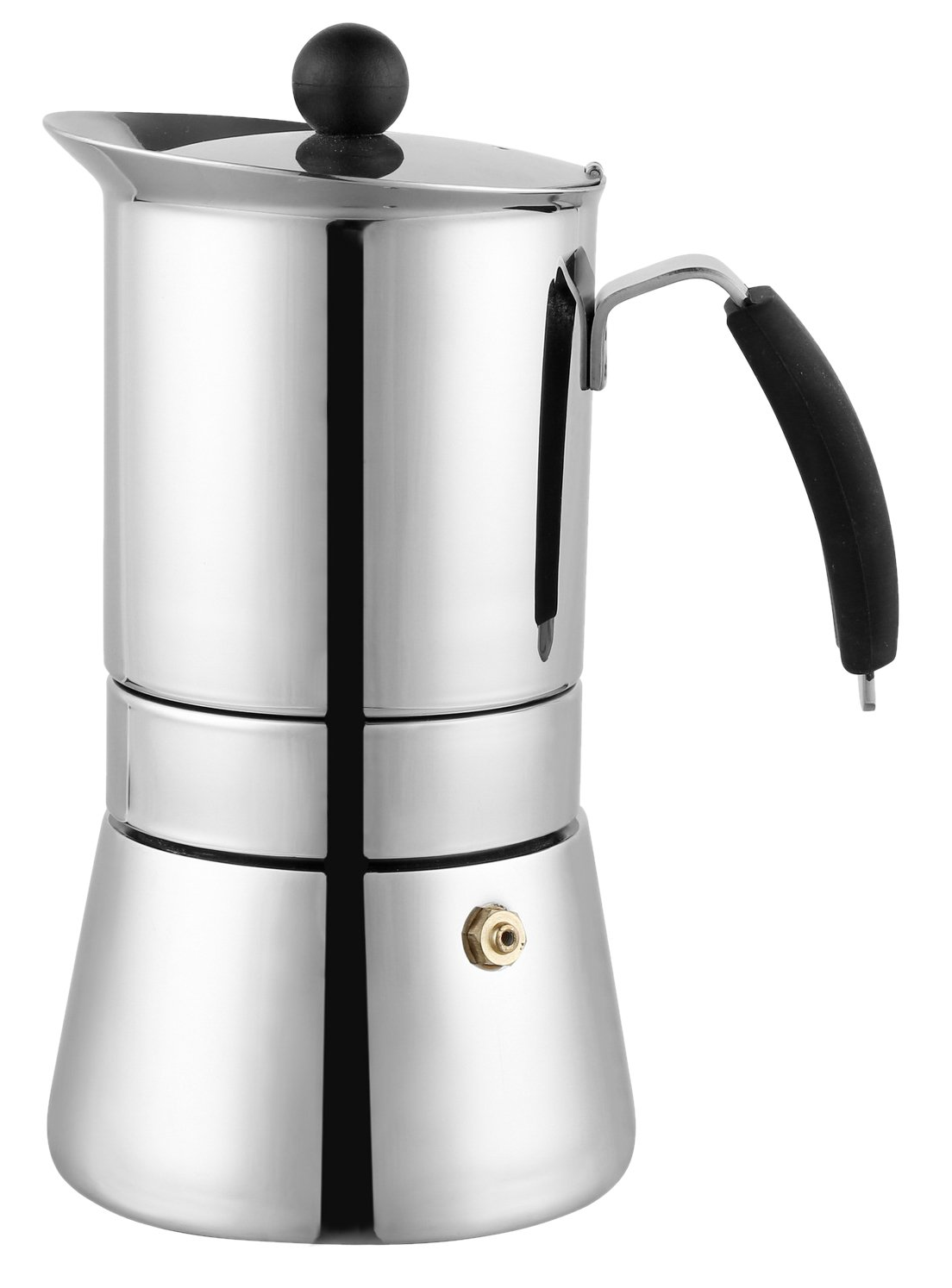 Cuisinox 9 cup Amore Espresso Coffeemaker in Stainless Steel