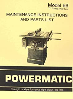 powermatic model 66 10\