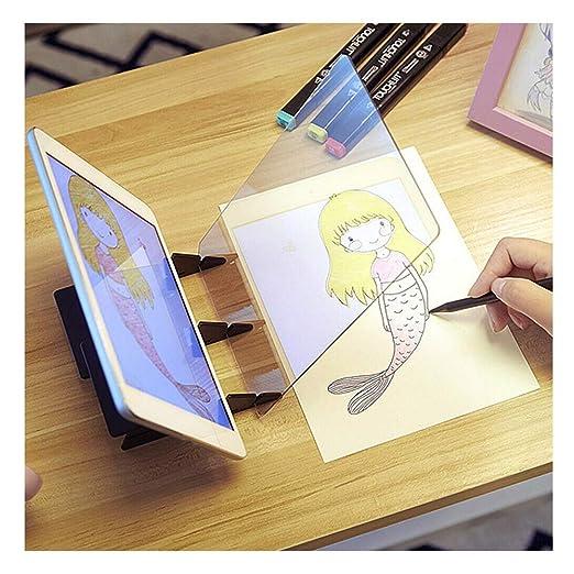 WYZTLNMA Tablero de dibujo del proyector óptico, copia de la ...