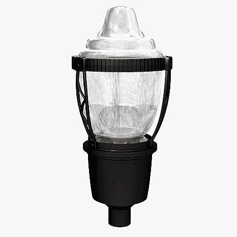 ba726c160b1 LED Post Top Street Light Acorn 30w LED Area Light 5000K Daylight  Waterproof Park Yard Lamp Outdoor Pathway Pole Lighting - - Amazon.com