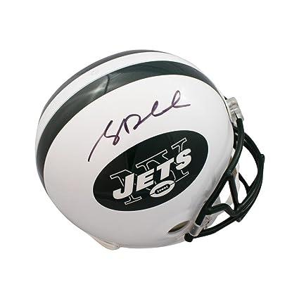 Sam Darnold Autographed New York Jets White Full Size Helmet - JSA COA e9d18c29b